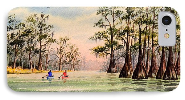 Suwannee River IPhone Case by Bill Holkham