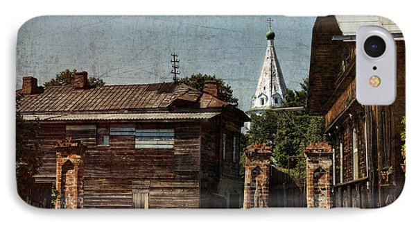Suzdal Street IPhone Case by Elena Nosyreva