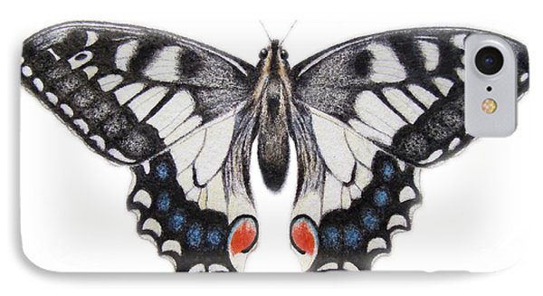 Swallowtail IPhone Case by Ele Grafton