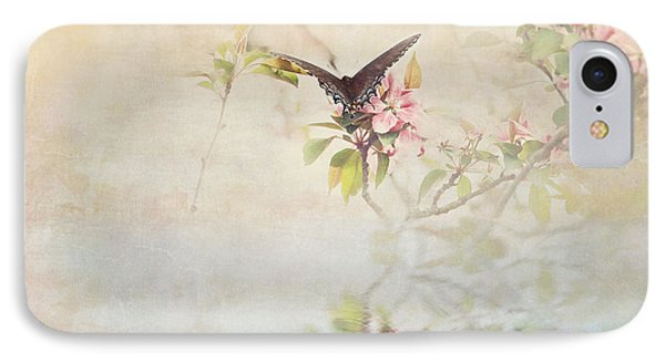 Swallowtail Over Water IPhone Case