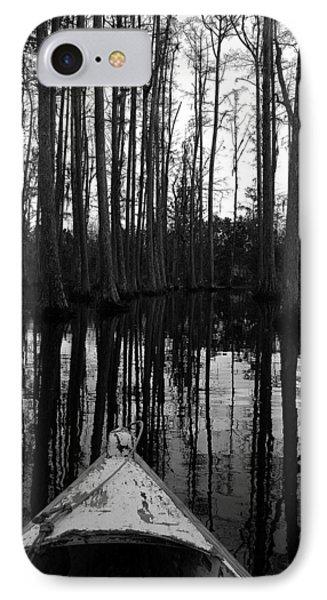 Swamp Boat IPhone Case