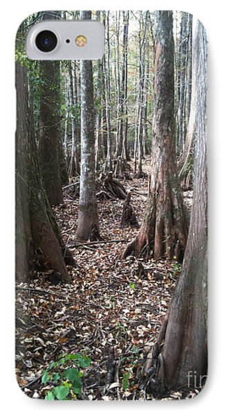 Swamp Edge Portrait IPhone Case