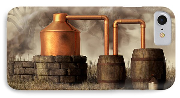Swamp Moonshine Still IPhone Case by Daniel Eskridge