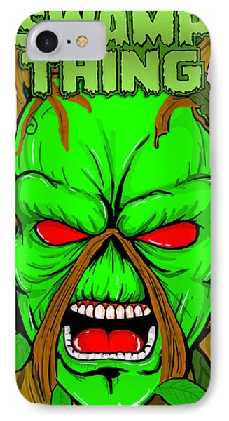 Swamp Thing Phone Case by Gary Niles