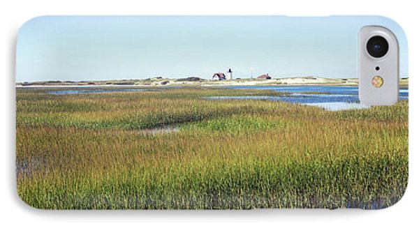 Swamp With Lighthouse IPhone Case by Panoramic Images