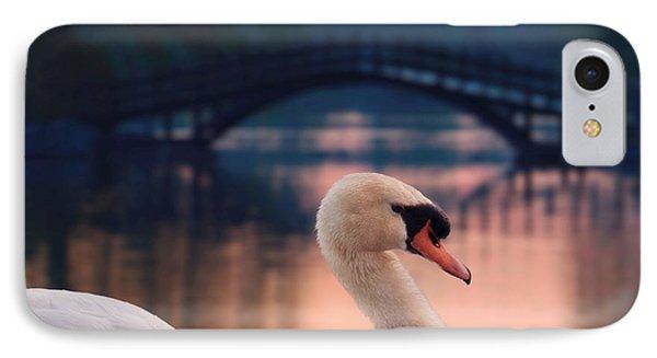 Swan Bridge IPhone Case by Henry Kowalski