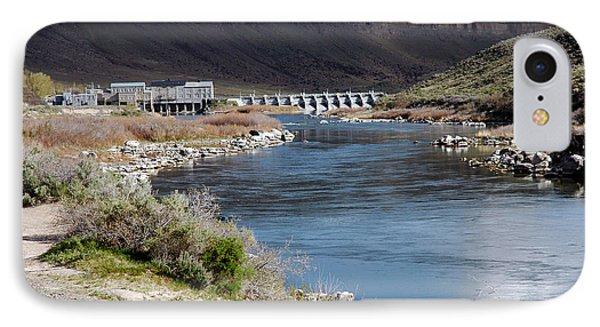 945a Swan Falls Dam Snake River Birds Of Prey Area IPhone Case