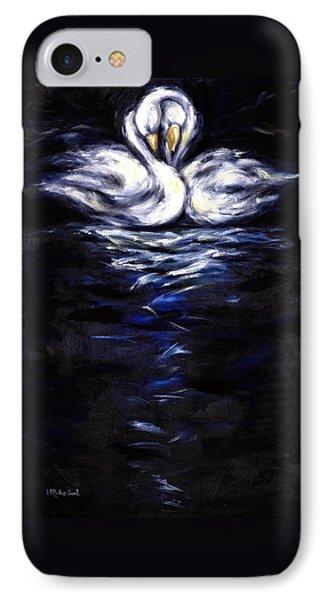 Swan Phone Case by Hiroko Sakai