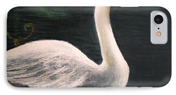Swan I IPhone Case