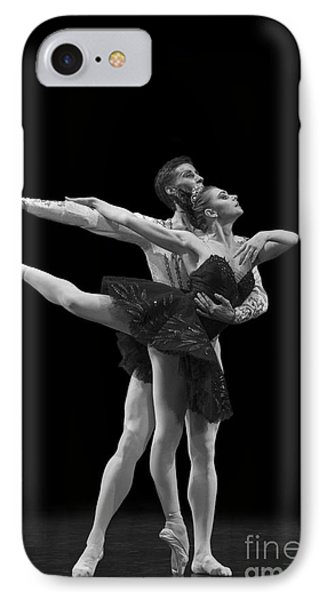 Swan Lake  Black Adagio  Russia  Phone Case by Clare Bambers