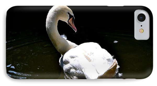 Swan Lake IPhone Case by Deena Stoddard