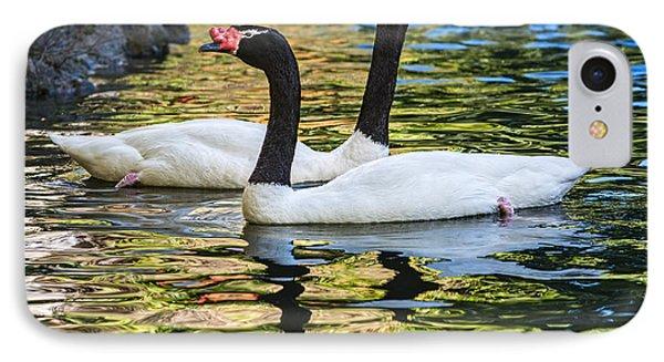 Swan Lake IPhone Case by Jamie Pham