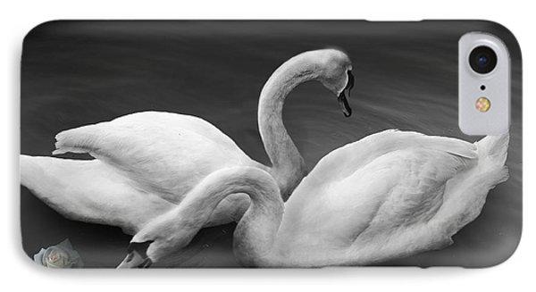 Swan Lake Phone Case by Larry Butterworth