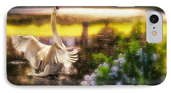 Swan Lake Phone Case by Lois Bryan