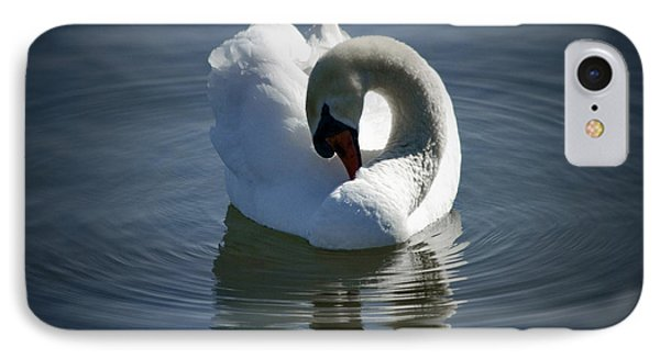 IPhone Case featuring the photograph Swan Lake by Pennie  McCracken