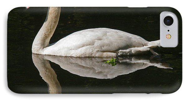Swan Reflection IPhone Case by John Topman
