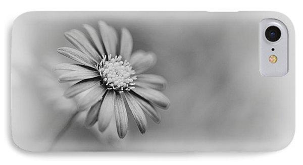 Swan River Daisy Monochrome IPhone Case