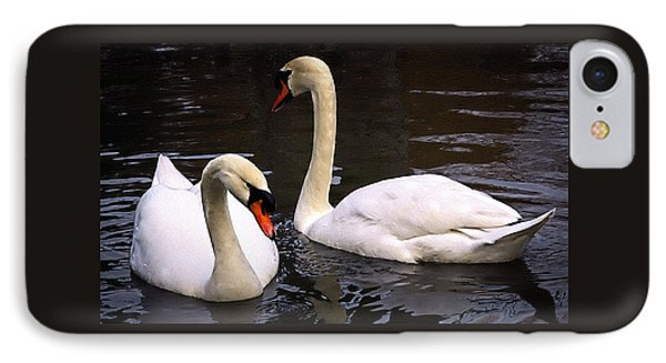 IPhone Case featuring the photograph Swan Two by Elf Evans