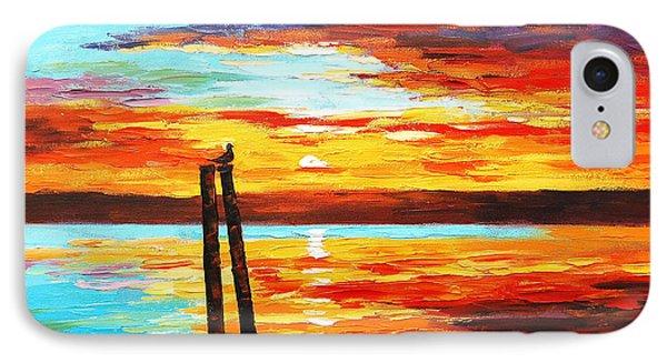 Swansea Sunset IPhone Case