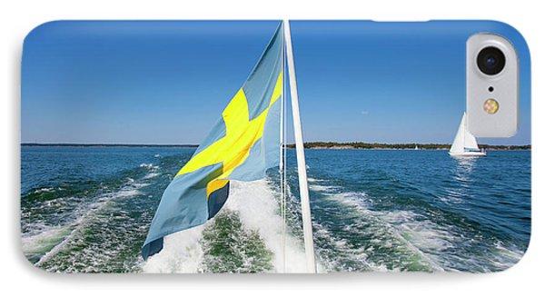 Sweden - Sailing In Stockholm IPhone Case