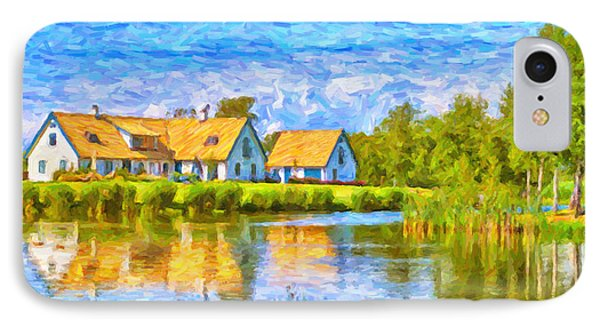 Swedish Lakehouse Phone Case by Antony McAulay
