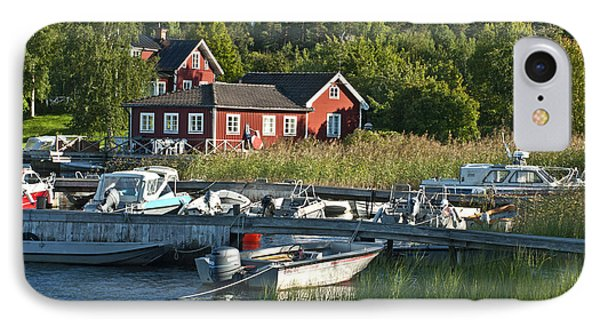Swedish Summer Phone Case by Nancy De Flon