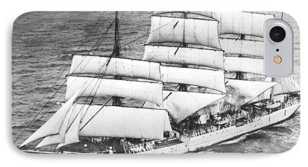Swedish Training Sailing Ship IPhone Case