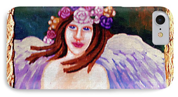 Sweet Angel Phone Case by Genevieve Esson