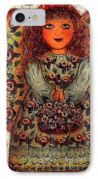 Sweet Angel Phone Case by Natalie Holland