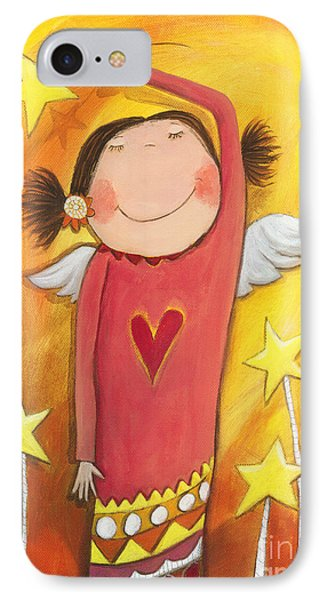 Sweet Angel Phone Case by Sonja Mengkowski