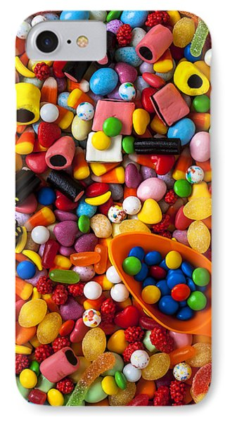 Sweet Candy With Scoop IPhone Case by Garry Gay
