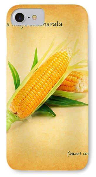Sweet Corn IPhone Case by Mark Rogan