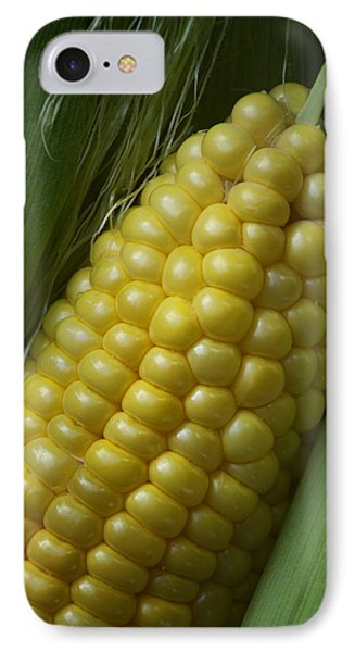 Sweet Corn - On The Cob IPhone Case by Nikolyn McDonald