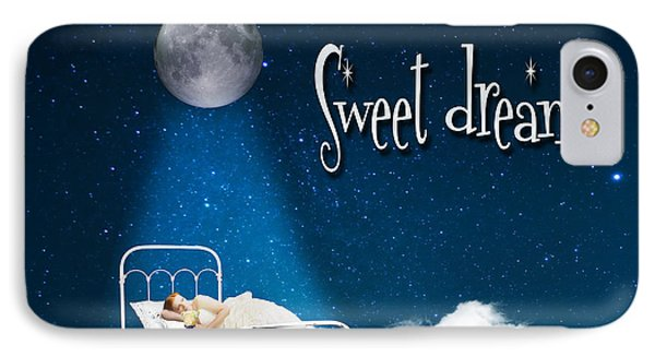 Sweet Dreams IPhone Case by Juli Scalzi