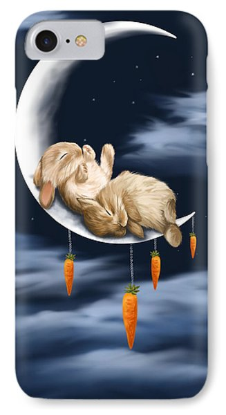 Sweet Dreams IPhone Case by Veronica Minozzi