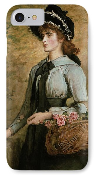 Sweet Emma Morland Phone Case by Sir John Everett Millais
