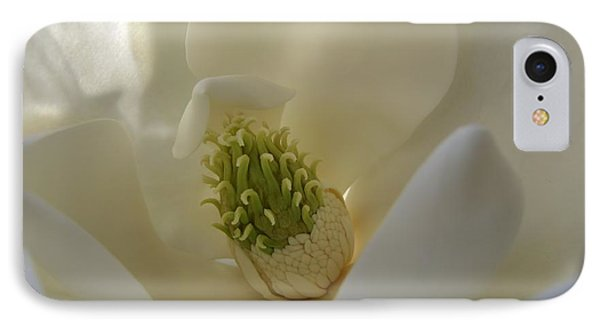 Sweet Magnolia Phone Case by Peggy Hughes
