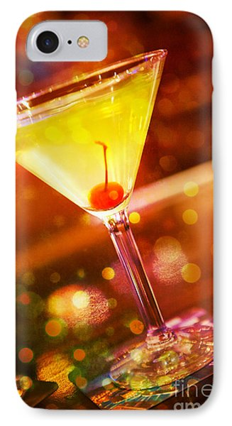 Sweet Martini  IPhone Case by Erika Weber