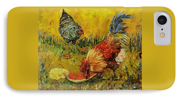 Sweet Pickins, Chickens IPhone Case