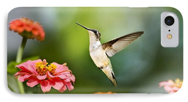 IPhone Case featuring the photograph Sweet Promise Hummingbird by Christina Rollo
