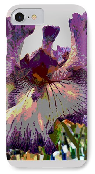 Sweet Purple IPhone Case by Sally Simon
