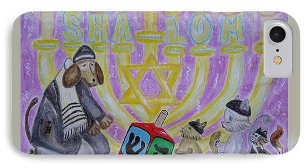 Sweet Shalom IPhone Case by Diane Pape