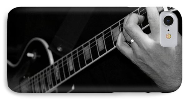 IPhone Case featuring the photograph Sweet Sounds In Black And White by John Stuart Webbstock