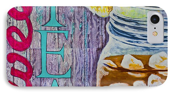 IPhone Case featuring the mixed media Sweet Tea by Melissa Sherbon
