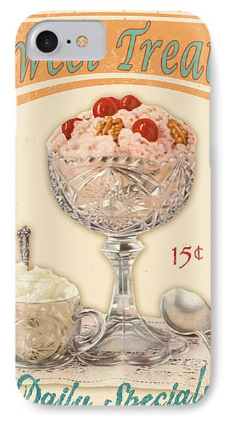 Ice iPhone 7 Case - Sweet Treats by Jean Plout