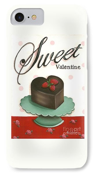 Sweet Valentine  Phone Case by Catherine Holman