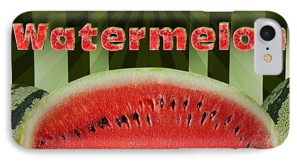 Sweet Watermelon IPhone Case by Bedros Awak