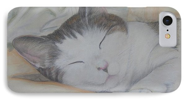 Sweet While Sleeping IPhone Case by Cathy Lindsey