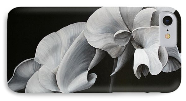 Sweetpea Blossoms IPhone Case