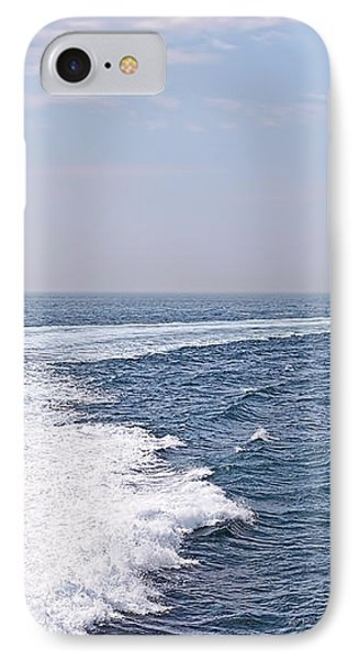 Swell Day On The Ocean IPhone Case by Gill Billington